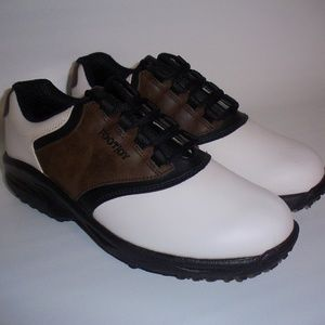 FootJoy Men's Junior Golf Shoes with Soft Spikes